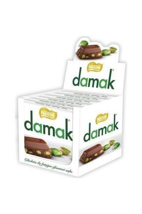 Nestle Damak Antep Fıstıklı Sütlü Çikolata 63 Gr 6 Adet