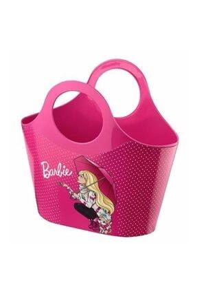 Barbie Kız Çocuk Pembe Lisanslı Plaj Çantası 714226