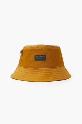 Levi's ® Erkek Pocketed Bucket Şapka - No Horse Pull Logo Patch
