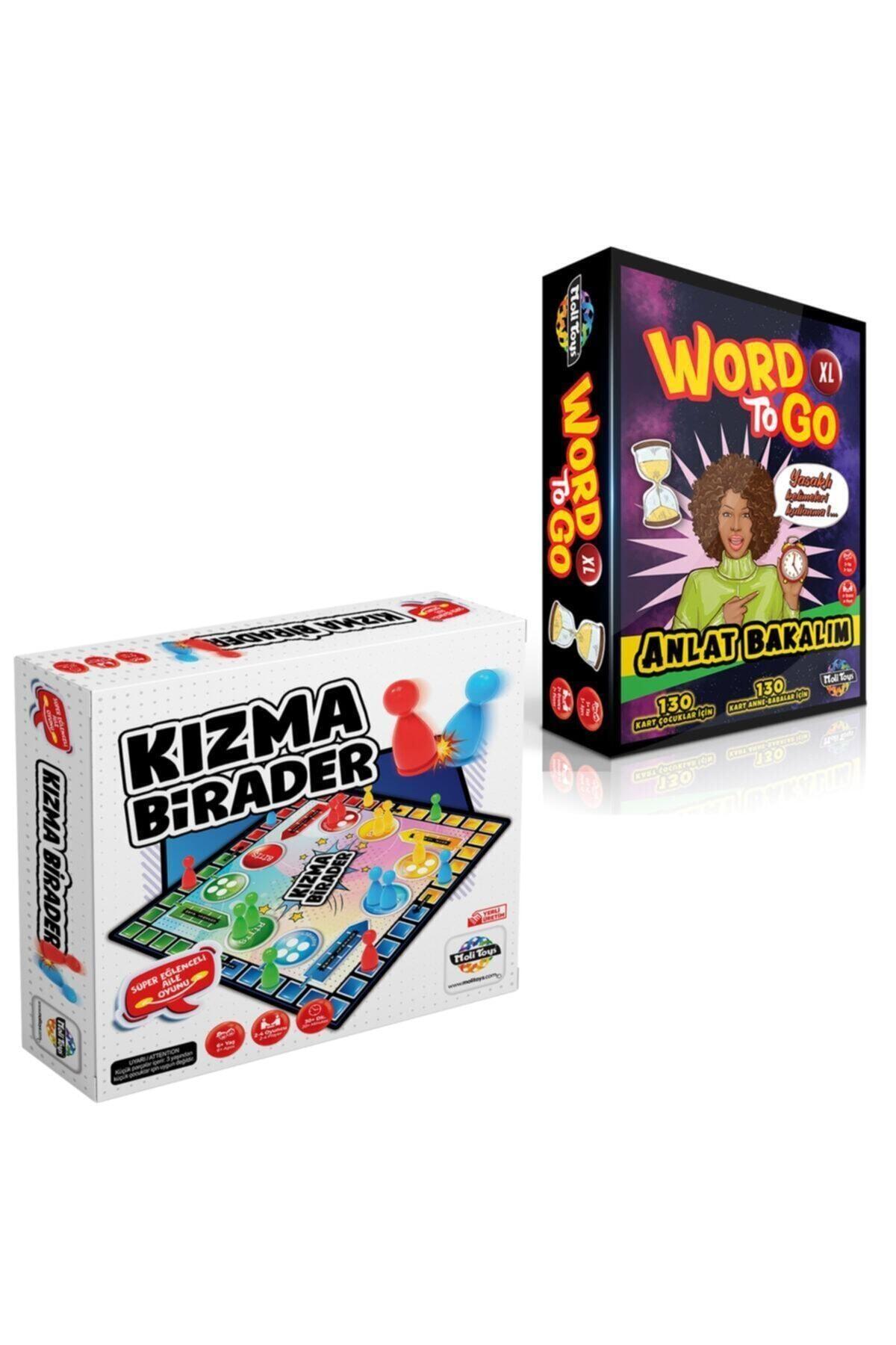 Moli Toys Kızma Birader + Word To Go Xl( Tabu Xl) Edition 2'li Süper Set 1