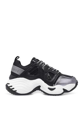 Emporio Armani Kadın Siyah Sneaker Ayakkabı S X3x099 Xm583 R122