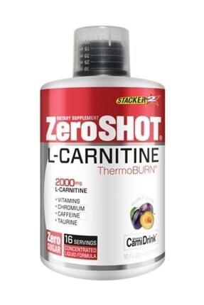 Zero Shot L-carnitine Yağ Yakıcı Termojenik Vitamin Erik Aroma 480ml