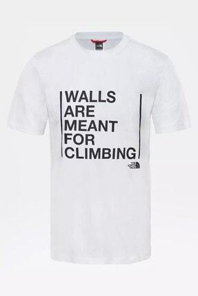 THE NORTH FACE M S/s Walls Are For Climbing Tee-eu Erkek Tişört