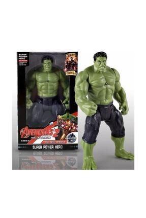 AVENGERS Büyük Boy Işıklı Hareketli Marvel Titan Hero Hulk Figür Yeşil Dev 30 Cm