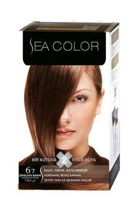 Sea Color Set Boya 6.7 Çikolata Kahve
