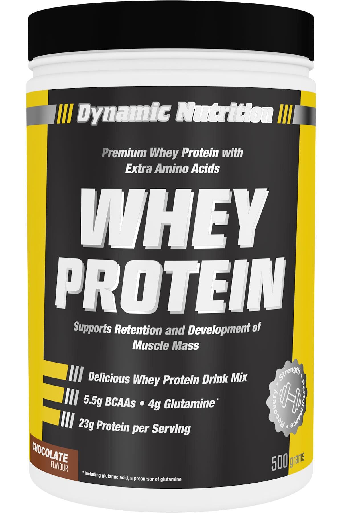Dynamic Nutrition Dynamic Whey Protein Tozu 500 Gr (çikolata Aromalı) 1
