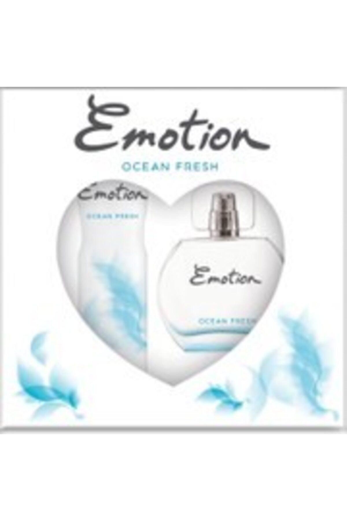 Emotion Ocean Fresh Bayan Edt 50 Ml + 150 Ml Deodorant Parfüm Seti 2