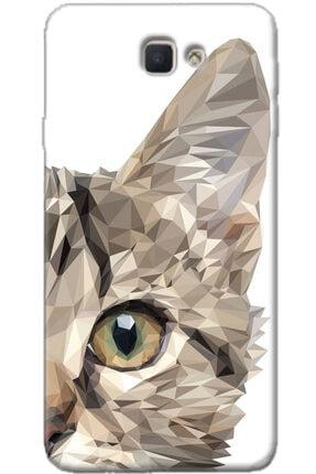 Noprin Samsung Galaxy J7 Prime Kılıf Silikon Baskılı Desenli Arka Kapak
