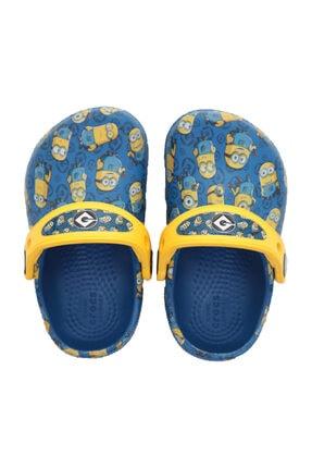 Crocs Kids 205122-4GX-4GX Crocs Fl Minions Grphic Clog K Çocuk Terlik Lacivert