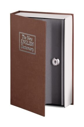 MasterCare Bordo Kitap Görünümlü Kasa Mini Kilit HEDİYELİ 712022