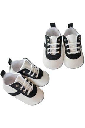 Papulin Erkek Bebek Patik Taraftar Ayakkabı Suni Deri Bjk