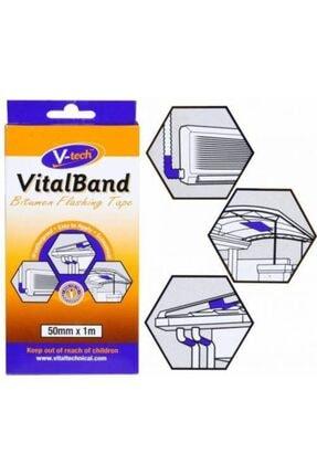 V-tech Vital Bant Folyolu Bitüm Izolasyon Isı Bandı 50mm X 1 M