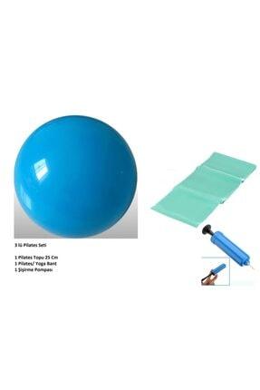 Pi İthalat Pilates Seti - Top - Pompa - Bant
