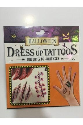 Pi İthalat Halloween Geçici Dövme Dikiş Modeli