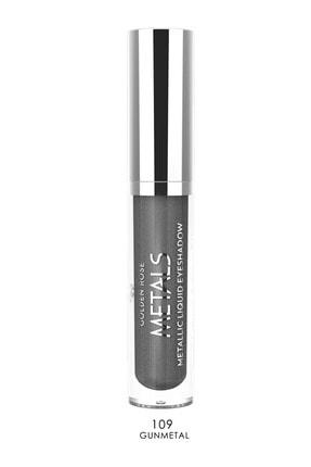 Golden Rose Likit Metalik Göz Farı - Metals Metallic Liquid Eyeshadow No: 109