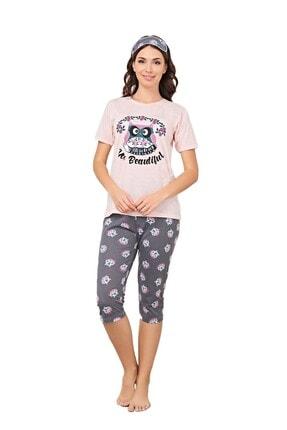 walkie Edith Pudra Kadın Pijama Takımı