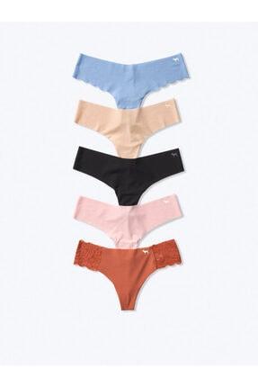 Victoria's Secret Kadın 5'li Paket Klasik Tanga Külot