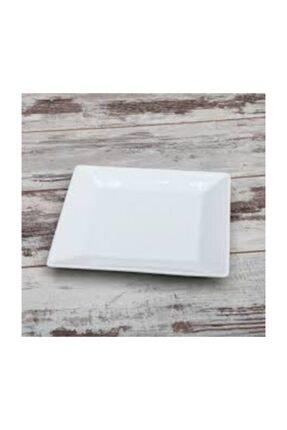 Güral Porselen Kare Servis Tabağı 6'lı 27*27 Cm