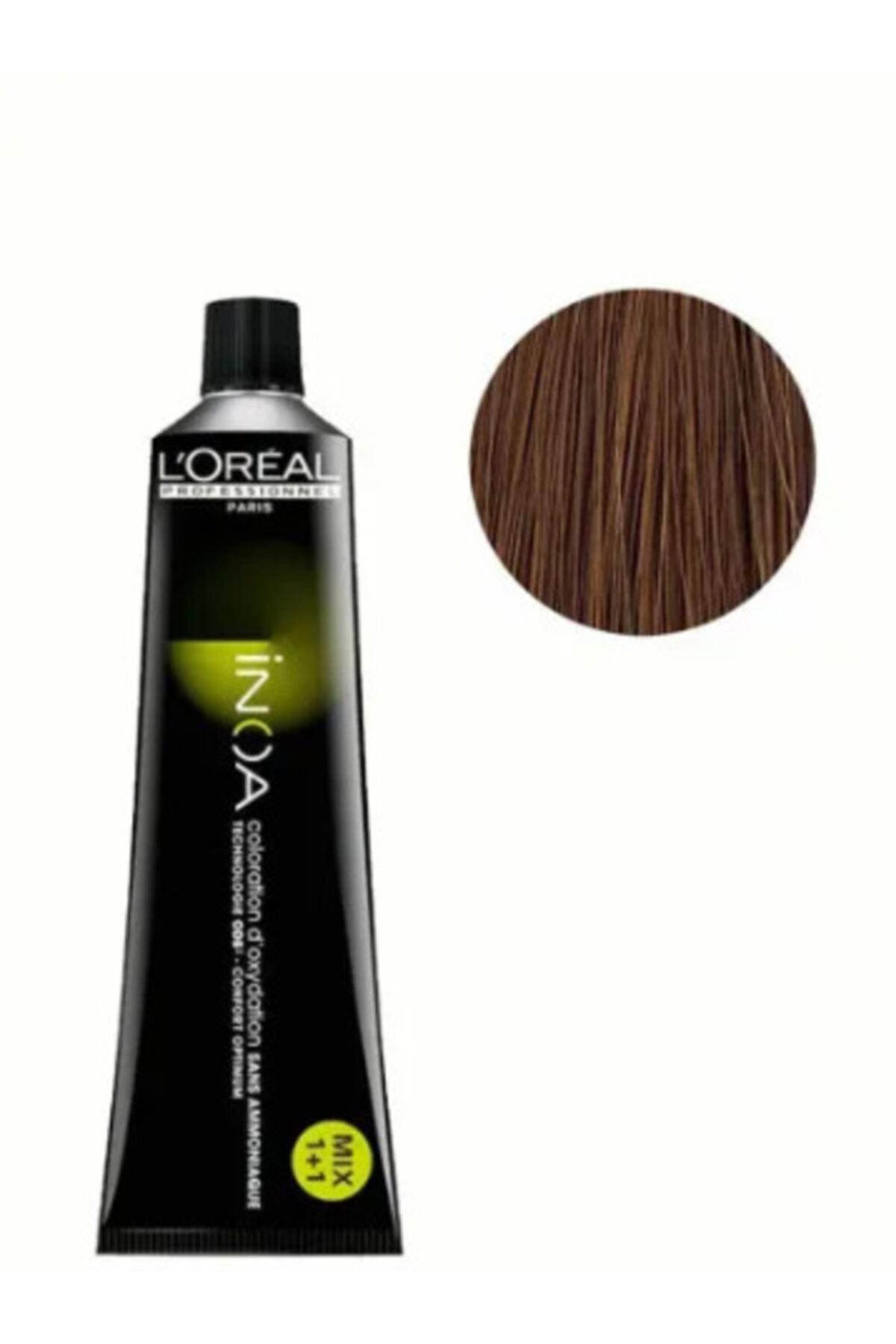 L'oreal Professionnel L'oreal Professional Inoa Saç Boyası 7,1 Renk Kumral Küllü 1