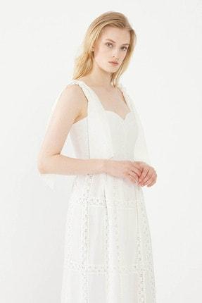 adL Kadın Kemik Göğüs Kuplu Elbise 124C1700000019