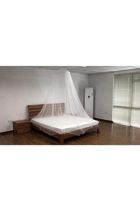 Rupen Kraft Beyaz Lüx Sineklik Rahat Uyku Tül Cibindirik Beyaz