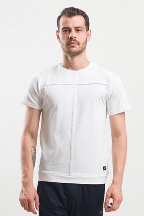 Slazenger PONZA Erkek T-Shirt Beyaz ST10TE097