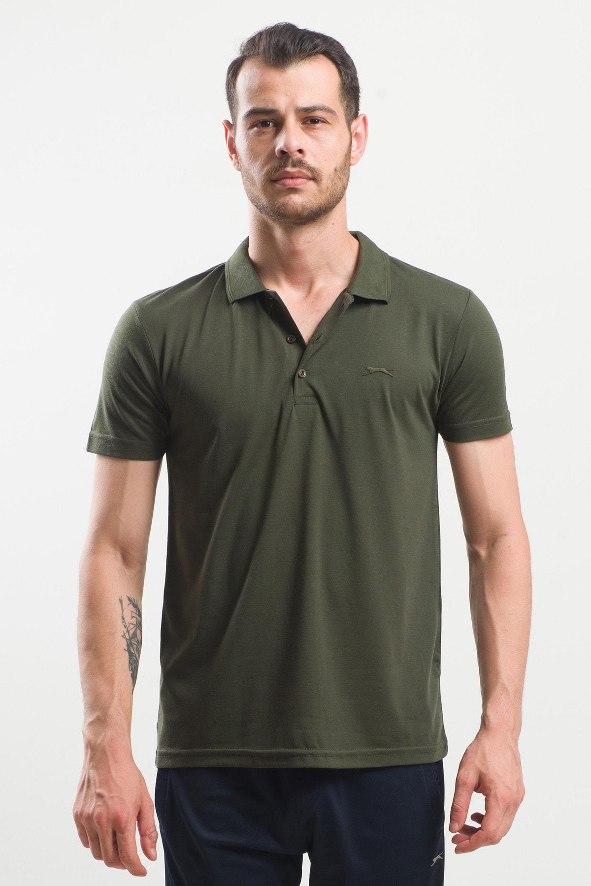 Slazenger Spırıt Erkek T-shirt Haki 1