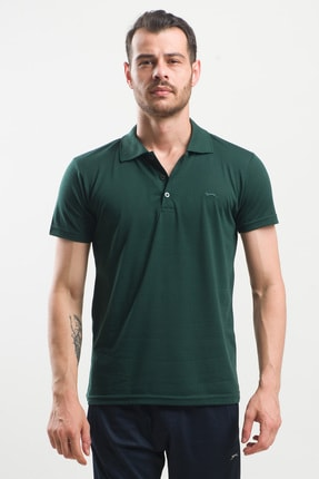 Slazenger Spırıt Erkek T-shirt K.yeşil St10te155