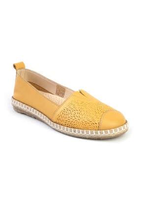 Libero Kadın Sarı Babet Ayakkabı
