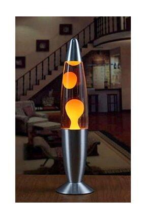 Lava Lambası -lav Lamba (büyük Boy 40 Cm) Sarı