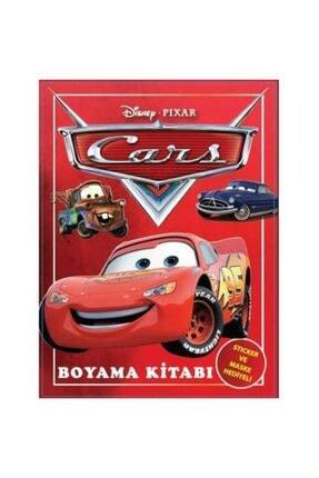 Elif Cars Boyama Kitabı + Stıcker + Maske Hediyeli 1 Adet