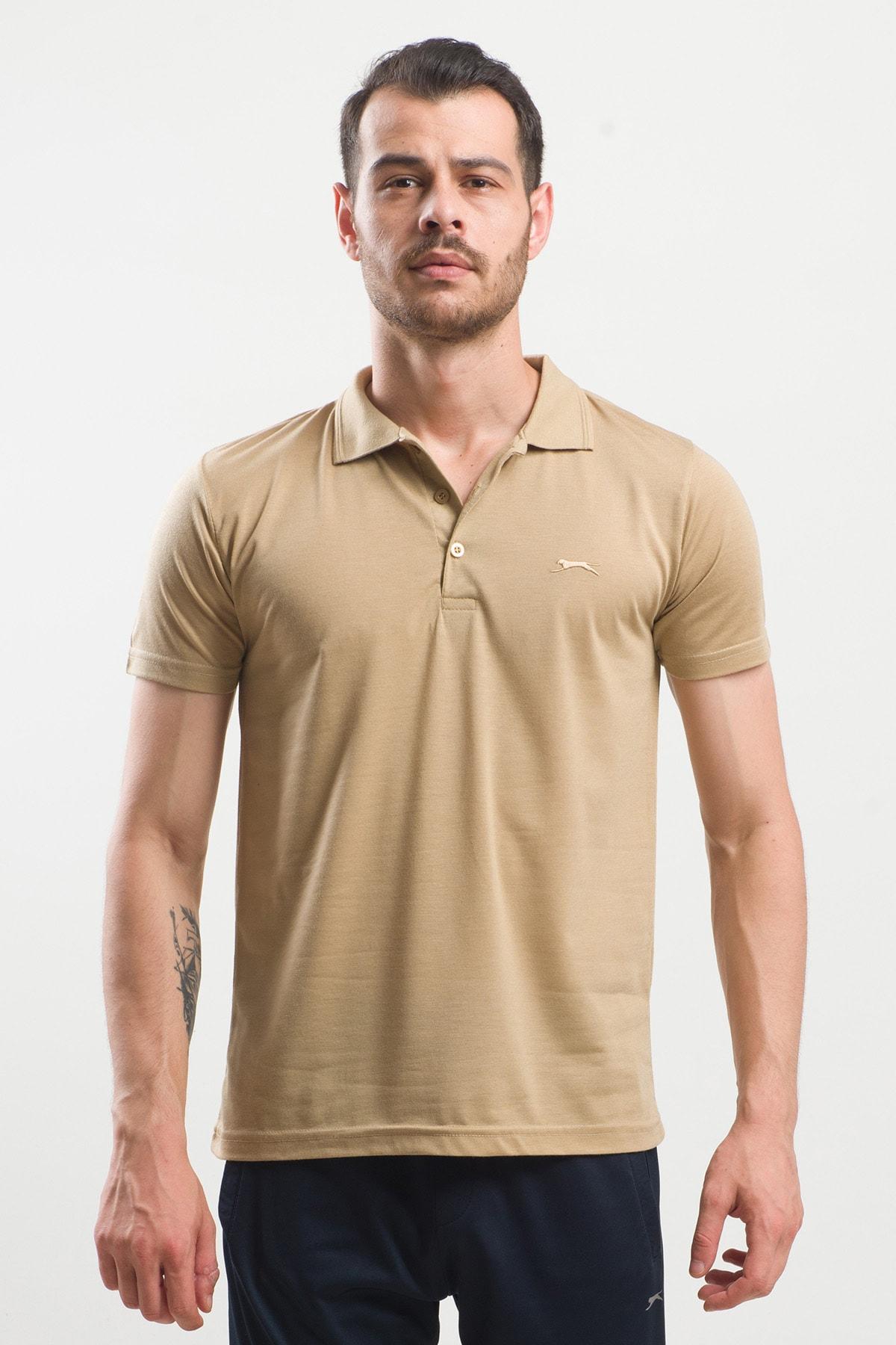 Slazenger Spırıt Erkek T-shirt Hardal 1