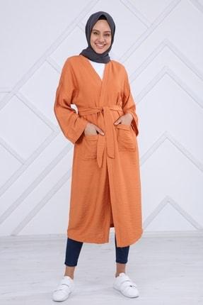 ilmek Kemerli Kimono Hırka
