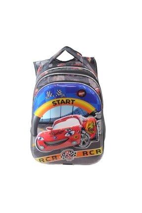 Çanta Sepetim Beslenmeli Rcr Arabalı Ilk Okul Çantası Mç12
