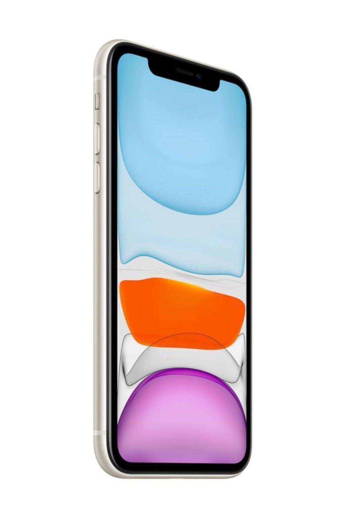 Apple iPhone 11 128GB Beyaz Cep Telefonu (Apple Türkiye Garantili) Aksesuarlı Kutu 2