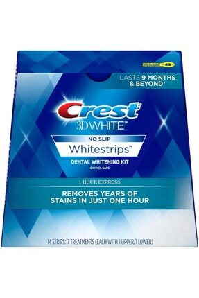 CREST 3d White 1 Hour Express 14 Whitestrips 7 Günlük