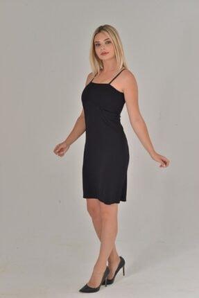 Lora Garden Kadın Siyah Renk Elbise Içi Kombinezon