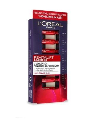 L'Oreal Paris Revitalift Lazer 7 Günlük Kür Peeling Etkili Ampul 3600523834365