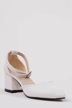 Oioi Beyaz Kadın Topuklu Ayakkabı 1006-119-0002_1003