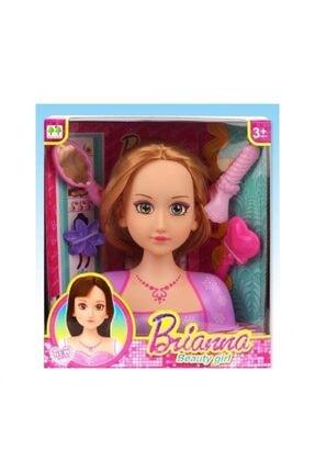 DEDE Brianna Saç Tasarım Büstü Oyuncak Güzellik Seti