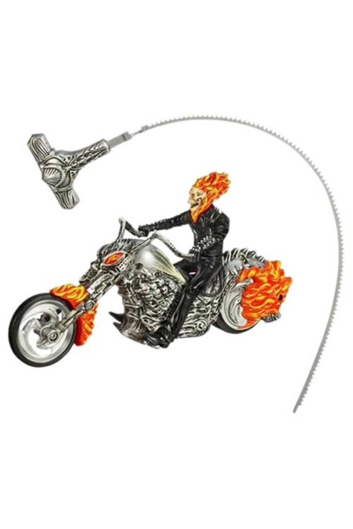 Hasbro Ghost Rıder Rıpcord Flame Cycle Figür Orjinal Hayalet Sürücü 2