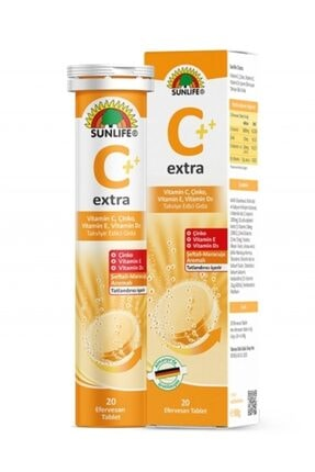Sunlife Vitamın C Extra 20 Efervesan Tablet