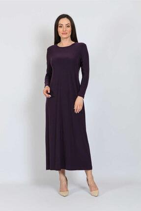 Orhan Kadın Mürdüm Elbise