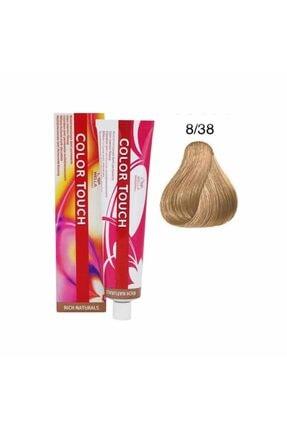 Wella Color Touch Plus 8/38 Saç Boyası 60 Ml