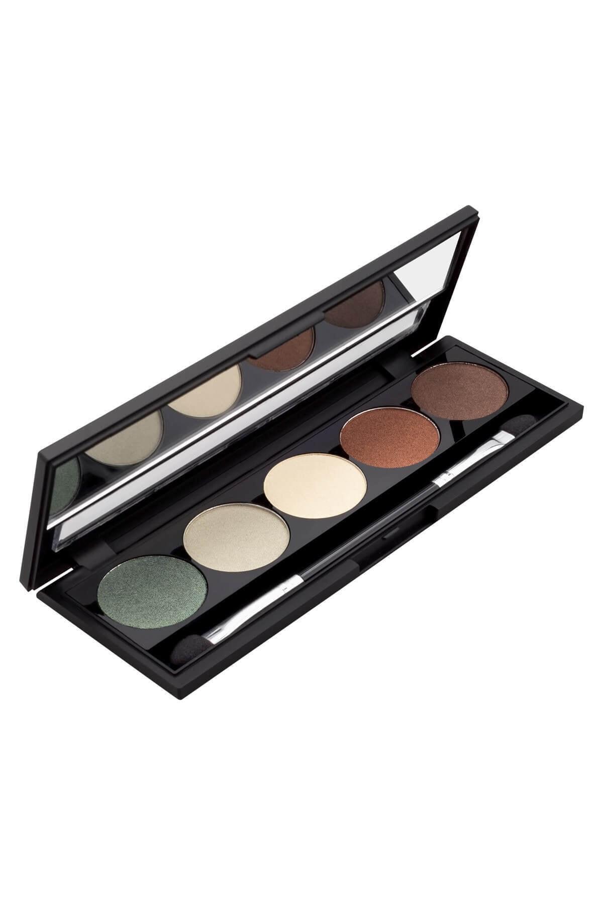 Catherine Arley 5?li Göz Farı Paleti - Palette Eyeshadow 5 Colors 01 8691167489030 1