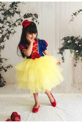 Mixie Pamuk Prenses Doğum Günü,tütü Kız Çoçuk Elbisesi