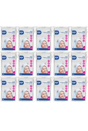 Wee Bebek Temizleme Pamuğu 60'Lı 15 Paket