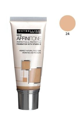 Maybelline New York Nemlendirme Etkili Fondöten - Affinitone Foundation 24 Golden Beige 30 ml 3600530427505