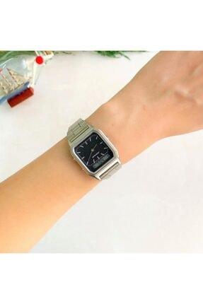 OQQO Gri Tasarım Saat