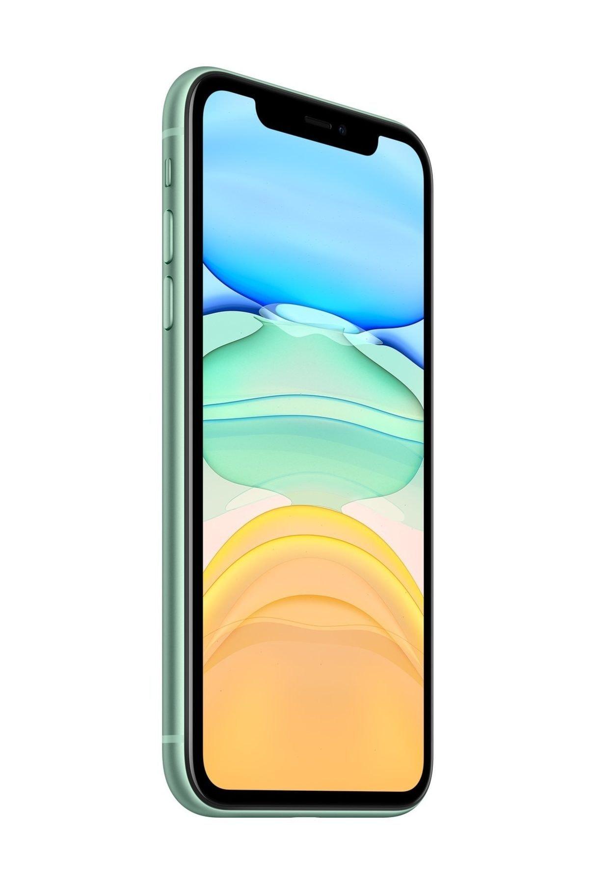 Apple iPhone 11 64GB Yeşil Cep Telefonu (Apple Türkiye Garantili) Aksesuarlı Kutu 2